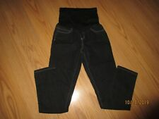 Planet Motherhood Dark Denim Full Belly Panel Maternity Stretch Jeans Sz M 8/10