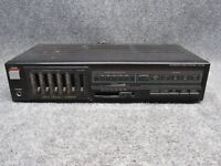 FISHER Model CA-226 Integrated Stereo Amplifier w/ Graphic Equalizer Audio Deck