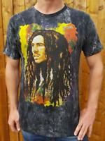 Bob Marley T-shirt artwork 100% cotton 'No Time' brand med and large size