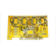 PCB Board Manufacturer Sample Custom PCB Prototype Paste Yellow Solder Mask