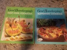 Vintage 1960s LOT cookbooks Good Housekeeping Keep Cool & Suppertime recipes