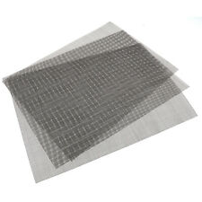 3PCS Stainless Steel Woven Wire Mesh 30x21cm Anti rust Mesh Formation