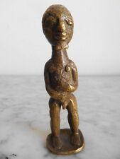 Statuette bronze ASHANTI 10cm  - ART TRIBAL AFRICAIN ARTE AFRICANO AFRIKA KUNST