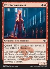 MTG Magic FRF FOIL - Smoldering Efreet/Éfrit incandescent, French/VF