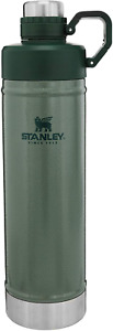 Stanley Classic Beverage Bottle with Never Lose Hinged Leak Proof Lid ,25 Oz