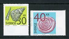 Sweden Scott #2650-2651 SA Fossils of Mollusks CV$21+