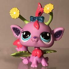Littlest Pet Shop Glistening Garden Fairy Purple Flowers Sparkle 2612 Figure LPS