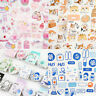 46pcs/box Pink Girlhood DIY Diary Stickers Paper Lables Gifts Packaging Decor