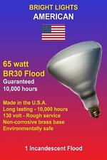 65W, 10k hour, BR30 Incandescent Floodlight