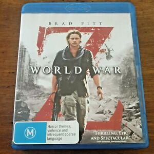 World War Z Blu-Ray Like New! – FREE POST