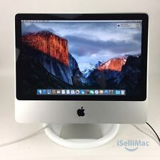 "Apple 2009 20"" IMac 2.26GHz Core 2 Duo 160GB 4GB MC015LL/B + B Grade + Warranty!"