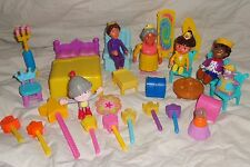 Dora Magical Castle Furniture Princess Prince Diego Bed Chairs Magnet Wand Boots