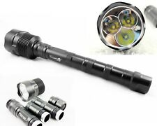 TrustFire 3x CREE XML T6 LED 3800Lm Flashlight Torch High Power Lamp waterproof