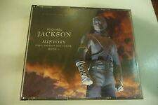 MICHAEL JACKSON COFFRET 2CD HISTORY. PAST,PRESENT AND FUTURE BOOK 1.