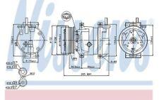 NISSENS Compresor, aire acondicionado BMW DAEWOO NUBIRA CHEVROLET KALOS 89221