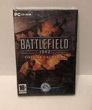 BATTLEFIELD 1942 DELUXE EDITION PC GAME BRAND NEW SEALED. 3 DISCS.