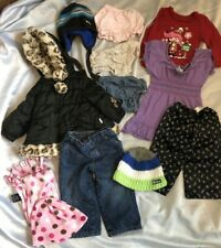 LOT BABY TODDLER 12 Month 1 Y CLOTHING Girl 10 Pieces Jacket Jeans Hats Old Navy