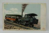 Vintage 1901 Unposted Cogwheel Train 6791 Manitou Pike's Peak Railway CO