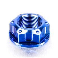 Pro-Bolt TI Flanged Nut M22 x 1.50 Rear Wheel Blue CBR1000RR Fireblade 12-16