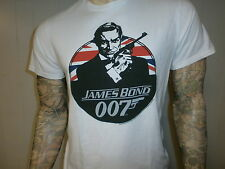 Retro JAMES BOND 007 T SHIRT Throwback GAP From Russia With Love SEAN CONNERY M