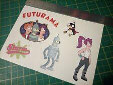 Futurama bender layla Stickers