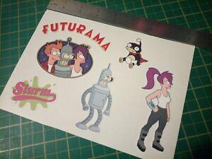 Futurama bender layla Slurm Stickers