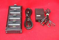 INTERMEC 700C QUAD PACK BATTERY CHARGER 852-060-001 w/ POWER SUPPLY