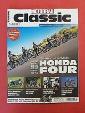 Motorrad Classic 1+2/2020 Vierzylinder Honda Four Neu