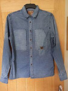 Pearly King Denim Shirt Size Medium