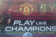 FOOTBALL/ SOCCER/ DVD/ Manchester United/ PLAY LIKE CHAMPIONS/ BBC VIDEO/ SKILLS