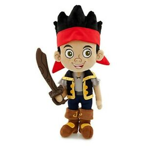 DISNEY JAKE AND THE NEVERLAND PIRATES - JAKE Pirate  Plush Soft Toy BRAND NEW