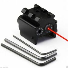 Hunting Red Dot Laser Pistol Sight Scope 20mm Picatinny Pistol Rifle Mount Rail