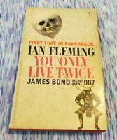 1965 YOU ONLY LIVE TWICE Ian Fleming JAMES BOND 007 #12 Kissy Suzuki 1st Ptg #12