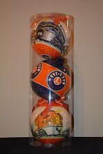 """LIONEL OUTDOOR CHRISTMAS ORNAMENTS- Set of 3 Oversized 8"""" Bulb Ornaments 9-21022"""