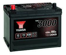 Yuasa YBX3069 SMF Battery - 4 Year Warranty