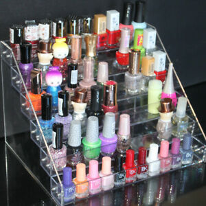 6 Tier Acrylic Varnish Organiser Holder Desk Storage Display nail polish stand