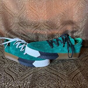 Adidas Alexander Wang AW Skate Shoes Snakers Green BY8907 Men's Size 9.5 New!