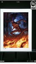 Sideshow Collectibles Alien King Premium Art Print Brand New !