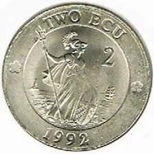 Engeland / United Kingdom 2 Ecu 1992 (b085)