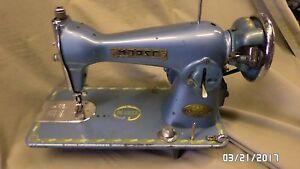 909D Vtg Morse 320 De Luxe Sewing Machine C-1RP C13419 UNTESTED VTG CONDITION