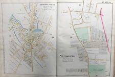 1890 ESSEX COUNTY NJ, SOUTH ORANGE, VAILSBURG, IRVINGTON VILLAGE, PLAT ATLAS MAP