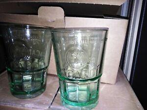 6 verres mojito bacardi 35cl en verre pas plastique no ricard Havana club n3
