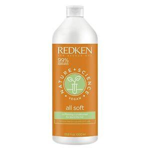 REDKEN Nature + Science All Soft Softening Conditioner 33.8 fl oz