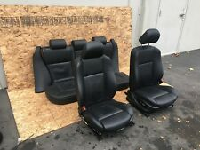 BMW E53 X5 4.8IS FRONT REAR NAPA LEATHER STITCHED SPORT HEATED SEATS SET OEM 83K