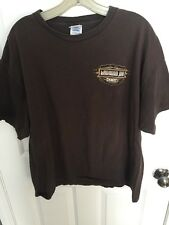 Laconia Motorcycle Week T-shirt Short Sleeve Brown Men's Size XL