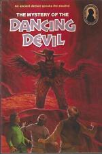 THREE INVESTIGATORS #25 THE MYSTERY OF THE DANCING DEVIL 1ST w/QUIZ & BOOKMARK