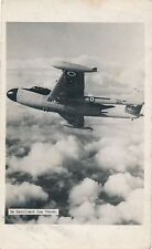 POSTCARD  AVIATION   De  Havilland  Sea  Venom