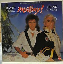 "12"" Vinyl LP Record. The Original London Cast Album. Mutiny! David Essex, Finlay"