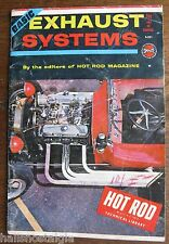 Hot Rod Basic Exhaust Systems Spotlite Book #551 1964 Hot Rod Magazine Library