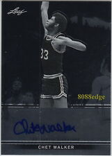 2012-13 LEAF METAL AUTO: CHET WALKER - AUTOGRAPH 7x ALL-STAR/HALL OF FAME 2012